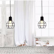 wire pendant light frames new arrive lamp vintage industrial loft retro style metal cage wire frame
