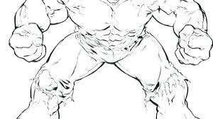 Incredible Hulk Coloring Page Printable Pages Surprising Superheroes