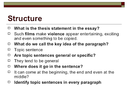 features of academic essay