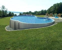 above ground swimming pool ideas. Landscape Above Ground Pool Best Ideas On Swimming Brilliant .