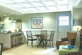 cost to drywall ceiling drop installation per square foot medium size suspended install