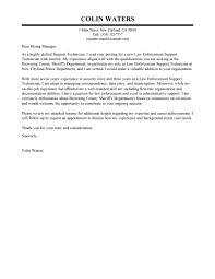 Technician Cover Letter Lezincdc Com