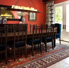 red dining room rugs with fancy how to decorate around a red wall aol finance
