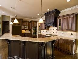Small Picture Kitchen Designs With Dark Cabinets Of exemplary Dark Cabinet