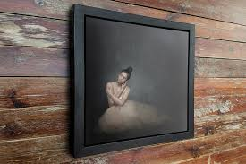 canvas print in a deep frame