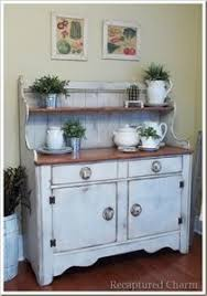 hutch kitchen furniture. Kitchen Hutch Buffet Furniture Pretentious Inspiration Idea Stunning Design Love This Weathered Look I Want To Paint My Pine Painted 210x298 7