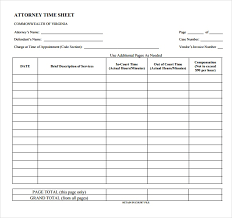 Sample Timesheet Templates - Tier.brianhenry.co