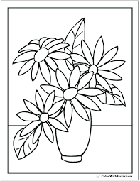 coloring pages flowers for adults 2.  Coloring A Coloring Page Of Flower Vase  To Coloring Pages Flowers For Adults 2 E