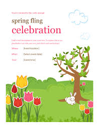 40 Amazing Free Flyer Templates Event Party Business Spring