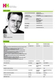 Acting Resume Template Download Cv Acting Resume Template 4952