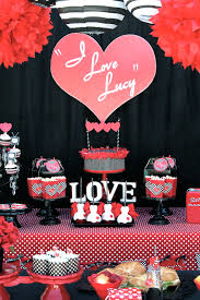 My favorite parties this week include an awesome fortnite birthday party, a beautiful ballerina birthday party, a vintage valentine's day party, and a lovely valentine's day breakfast. I Love Lucy Galentine S Day Party Valentine Party Ideas Laura S Little Party