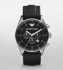 emporio armani watch men s chronograph black rubber strap ar0527 emporio armani watch men s chronograph black rubber strap ar0527 bossman watches