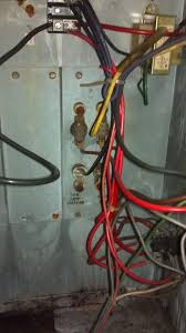 goodman janitrol airhandler electrical schematic doityourself this rusty old thing had 1 inch sparks shooting from the lower left 5 32 nut on the strip 2 hours to get the part and 10 minutes to install