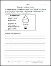 how to write an acrostic poem kenn