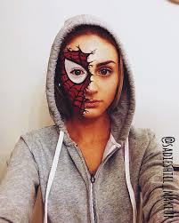 spider man costume makeup sashill makeup