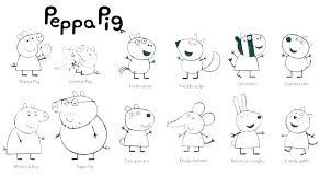 Peppa Pig Pictures To Print Doctorandusinfo
