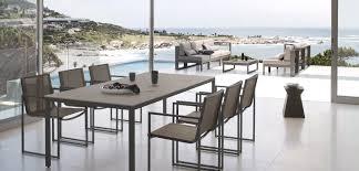 Modern Outdoor Dining Set Interior Design Ideas Blue Velvet Dining
