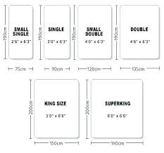 Bed Size Us Us Bed Sizes Chart Bed Size Comparison California King