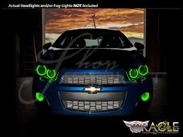 Chevrolet Sonic Lights Oracle 12 16 Chevrolet Sonic Plasma Halo Rings Headlights Bulbs
