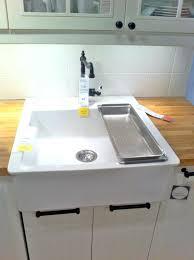 ikea farmhouse sink kitchen sink farmhouse sink vintage kitchen ideas with top mount ikea domsjo double