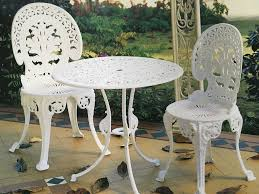 furniture excellent cast iron patio furniture minimalist impressive on table and chairs black aluminum from