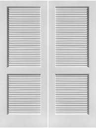 interior primed louver over louver 6 8 1 3 8 thick double d 730 by frameport interior