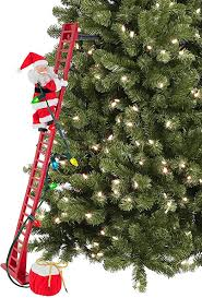 Mr. Christmas Super Climbing Santa Holiday Decor ... - Amazon.com