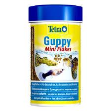 <b>Корм</b> для рыб <b>Tetra Guppy</b> Mini Flakes для всех видов Гуппи, в ...