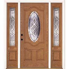 wooden front doorFront Doors  Exterior Doors  The Home Depot