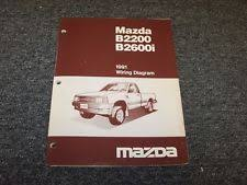 mazda b2600 manuals literature 1991 mazda b2200 b2600i pickup truck original electrical wiring diagram manual
