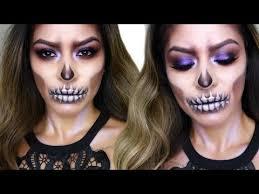 the 25 best skull makeup tutorial half ideas on skeleton makeup half face half skull face and half skull face paint