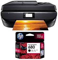 5.5cm (2.2 inch) mono graphic touchscreen fast, easy setup (free installation by hp for this ink tank printer, please call the call center at 1800 200 0047 post receiving printer). Hp Deskjet 5275 All In One Ink Advantage Wifi Printer With Fax Adf Duplex Printing Black Hp 680 Ink Advantage Cartridge Black Amazon In Computers Accessories