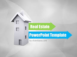 Powerpoint Real Estate Templates Real Estate 3d Powerpoint Template Slidesbase