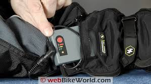 gerbing hybrid gloves review webbikeworld gerbing s hybrid gloves battery pack in pocket