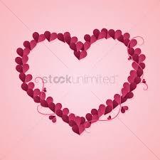 decorative heart vector graphic
