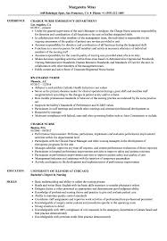 Dialysis Nurse Resume Samples Sample Charge Nurse Resume Magdalene Project Org