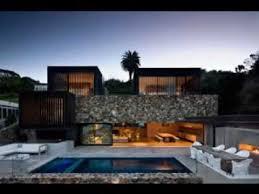 Modern Stone House Idea