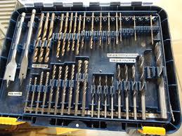 ryobi drill bit set. ryobi drill bit set. not complete .\u0027 set