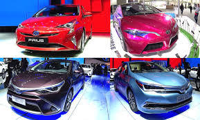 TOP 5 2016, 2017 Toyota Hybrids, Toyota Prius, Corolla, NS4, Levin ...