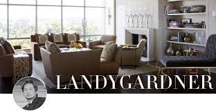 with a precocious eye for design â a 12 year old who knows how to hang dries anyone â landy gardner blends the fort of familiarity with