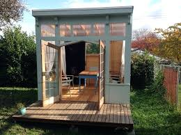 tiny backyard home office. Back Yard Office Compact Ideas Tiny Backyard She Caves Prefab Home Officer