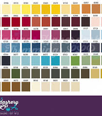 Coats Epic Thread Color Chart Fabians Haberdashery Trimmings Threads Sewing Threads