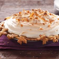 sweet potato pie with marshmallows. Wonderful Pie Sweet Potato Coconut Pie With Marshmallow Meringue Recipe  Taste Of Home Intended With Marshmallows P
