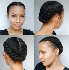 Updo Hairstyle 34 Quick And Easy Bow Updo For Black Hair Hawt