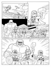 Additionally, you can also find the funny lego version of avengers superheroes. Kids N Fun Com 15 Coloring Pages Of Lego Marvel Avengers