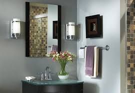 chrome bathroom sconces. Brilliant Sconces Lighting Ideas Bathroom Vanity With Lights From One Light Chrome Intended  For Wall Sconces Decor 9 And