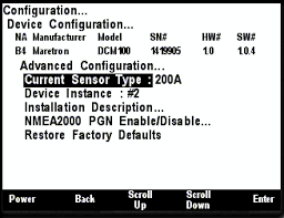 dsm250 user s manual typically advanced configuration is only done at installation and should not need to be done while at sea