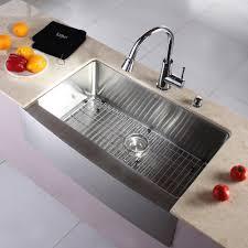 Retractable Kitchen Faucet Kitchen Faucet Set Kraususacom