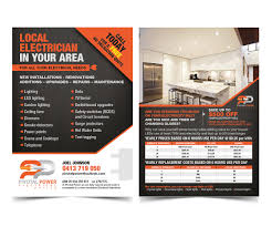 Advertising Flyers Samples Elegant Playful Advertising Flyer Design For A Company By