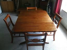 Vintage Oak Dining Table English Antique Oak Draw Drop Leaf Dining Table With Barley Twist